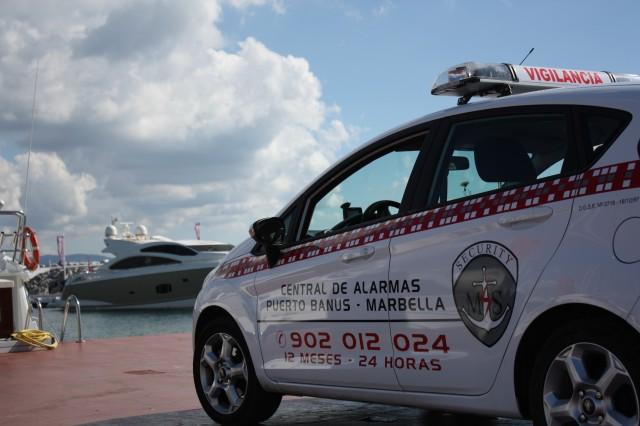 servicio de vigilancia en Puerto Banús
