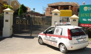 guarding services (security presence) at homeowners associations & communities in the Marbella region