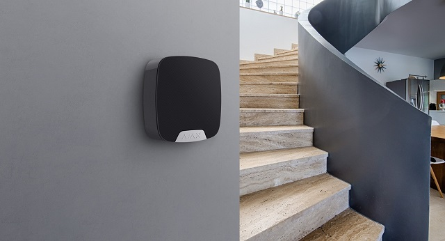 indoor siren in an ajax alarm system