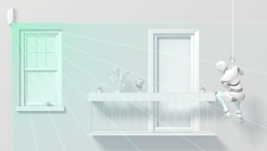 detector de alarmas exterior para impedir acceso a apartamentos