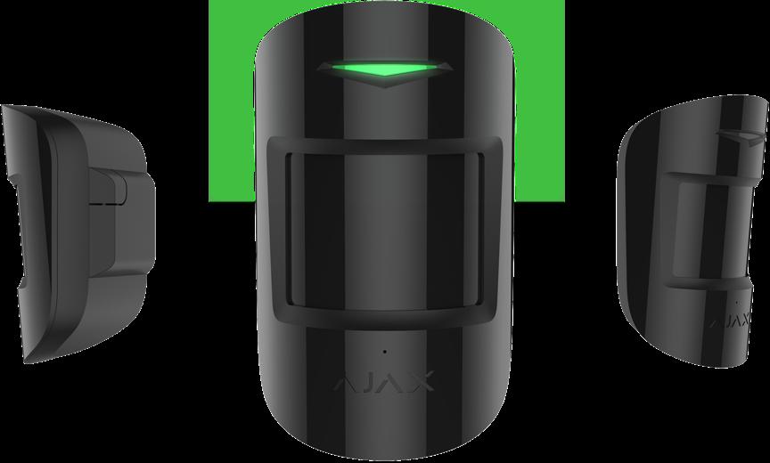 detector de movimiento y rotura de cristales combiprotect de ajax