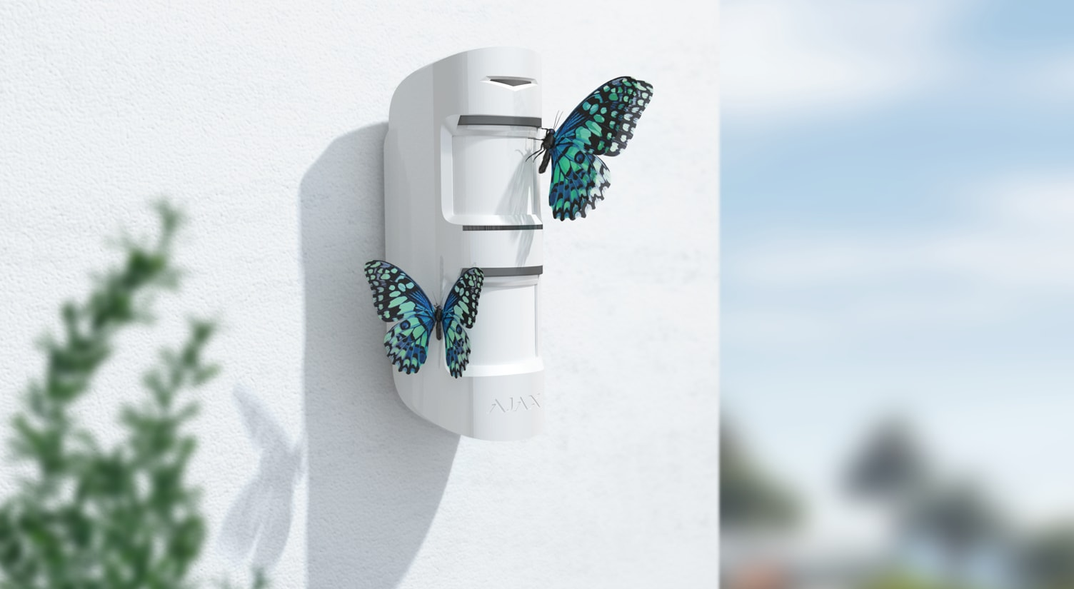 Instalar detectores de exterior para alarmas en Marbella