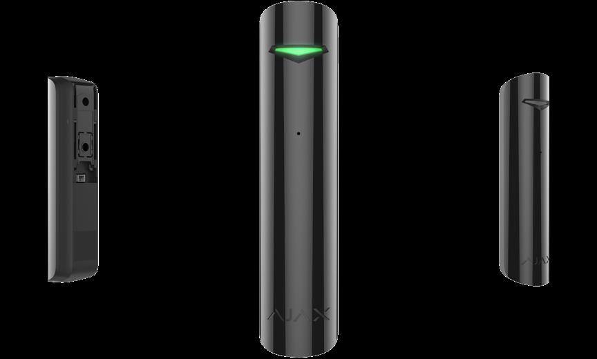 detector de rotura de cristales ajax negro