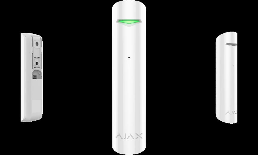 detector de rotura de cristales para alarmas con muchos cristales
